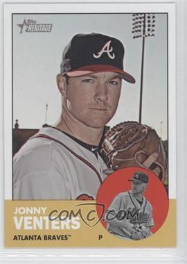 2012 Topps Heritage #429 - Jonny Venters