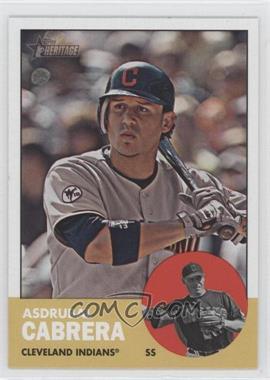 2012 Topps Heritage #435 - Asdrubal Cabrera