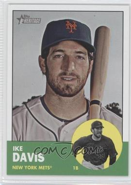 2012 Topps Heritage #436 - Ike Davis