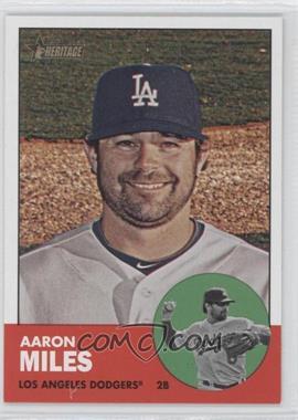 2012 Topps Heritage #439 - Aaron Miles