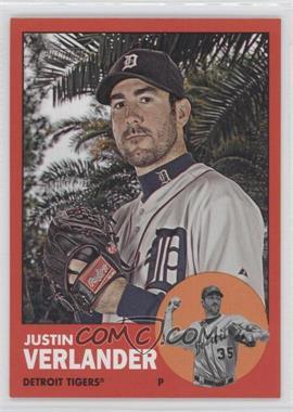 2012 Topps Heritage #44.3 - Justin Verlander (Target Red)