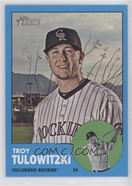 2012 Topps Heritage #453 - Troy Tulowitzki