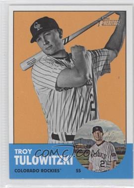 2012 Topps Heritage #453.2 - Troy Tulowitzki (Image Swap)
