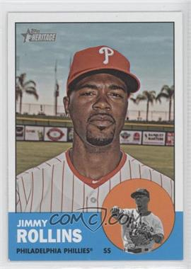 2012 Topps Heritage #455 - Jimmy Rollins