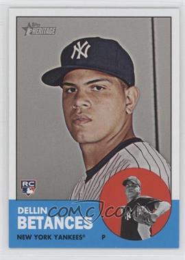 2012 Topps Heritage #457 - Dellin Betances