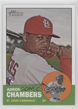 2012 Topps Heritage #458 - Adron Chambers