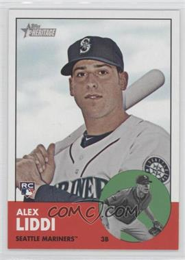 2012 Topps Heritage #459 - Alex Liddi