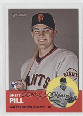 2012 Topps Heritage #460 - Brett Pill