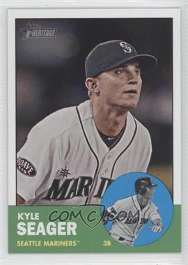 2012 Topps Heritage #466 - Kyle Seager