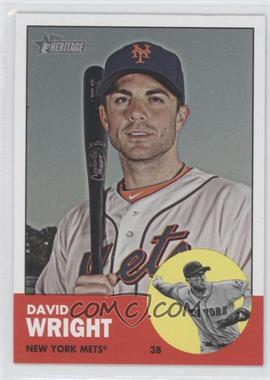 2012 Topps Heritage #467 - David Wright