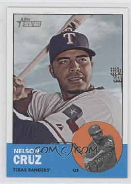 2012 Topps Heritage #468 - Nelson Cruz