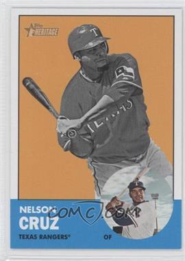 2012 Topps Heritage #468.2 - Nelson Cruz (Image Swap)