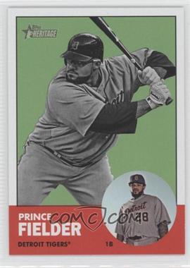 2012 Topps Heritage #476 - Prince Fielder