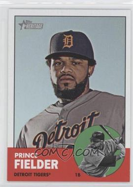 2012 Topps Heritage #476.1 - Prince Fielder (Base)