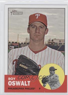 2012 Topps Heritage #478 - Roy Oswalt
