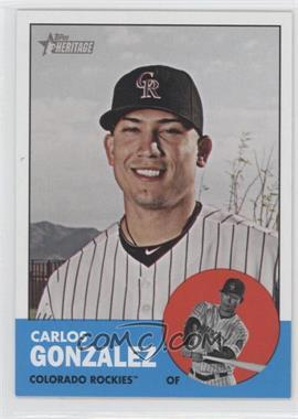 2012 Topps Heritage #480 - Carlos Gonzalez