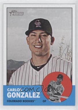 2012 Topps Heritage #480.1 - Carlos Gonzalez (Base)