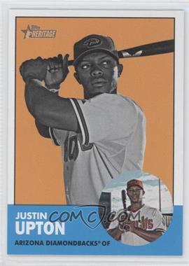 2012 Topps Heritage #481 - Justin Upton (Image Swap Variation)