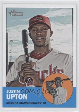 2012 Topps Heritage #481.1 - Justin Upton (Base)