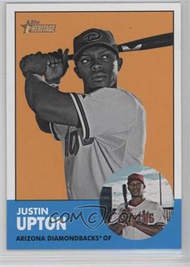 2012 Topps Heritage #481.2 - Justin Upton (Image Swap)