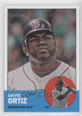 2012 Topps Heritage #482 - David Ortiz