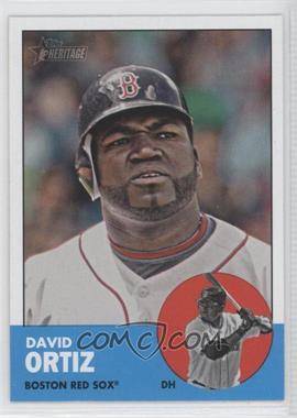 2012 Topps Heritage #482.1 - David Ortiz (Base)