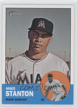 2012 Topps Heritage #483.1 - Mike Stanton (Base)