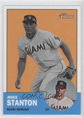 2012 Topps Heritage #483.2 - Mike Stanton (Image Swap)