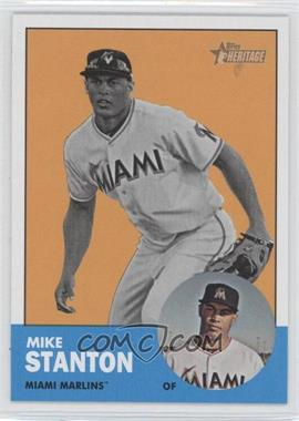 2012 Topps Heritage #483.2 - Mike Stanton (Image Swap)