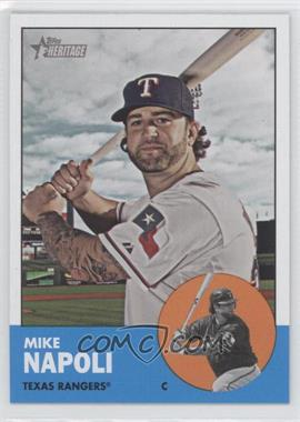 2012 Topps Heritage #485 - Mike Napoli