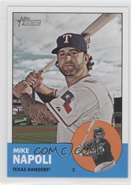 2012 Topps Heritage #485 - Mike Napoli