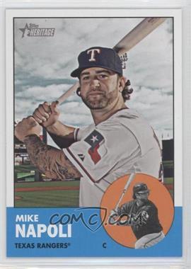 2012 Topps Heritage #485.1 - Mike Napoli (Base)