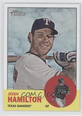 2012 Topps Heritage #486 - Josh Hamilton
