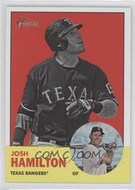 2012 Topps Heritage #486.2 - Josh Hamilton (Image Swap)