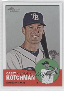 2012 Topps Heritage #487 - Casey Kotchman