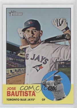 2012 Topps Heritage #489.1 - Jose Bautista (Base)