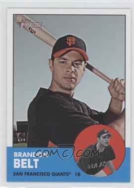2012 Topps Heritage #490 - Brandon Belt