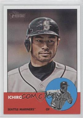 2012 Topps Heritage #491 - Ichiro Suzuki
