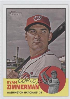 2012 Topps Heritage #494 - Ryan Zimmerman