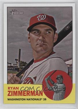 2012 Topps Heritage #494.1 - Ryan Zimmerman (Base)