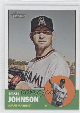 2012 Topps Heritage #496 - Josh Johnson