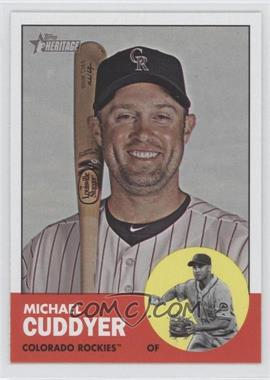 2012 Topps Heritage #500 - Michael Cuddyer