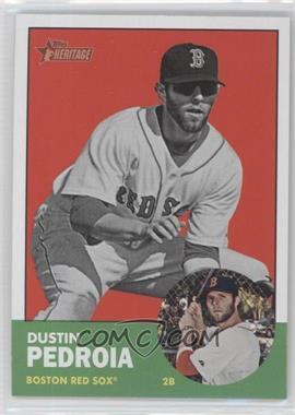 2012 Topps Heritage #52 - Dustin Pedroia