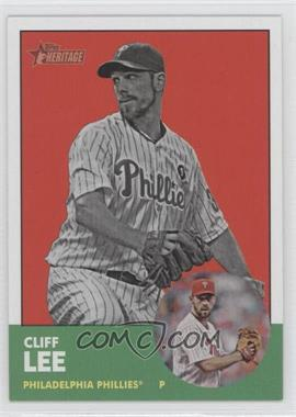 2012 Topps Heritage #56.2 - Cliff Lee (Image Swap)