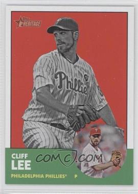 2012 Topps Heritage #56.3 - Cliff Lee (Image Swap Variation)