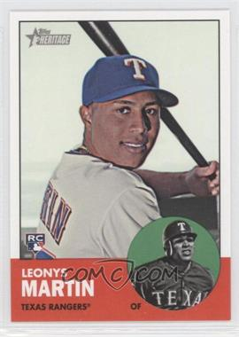 2012 Topps Heritage #674 - Leonys Martin
