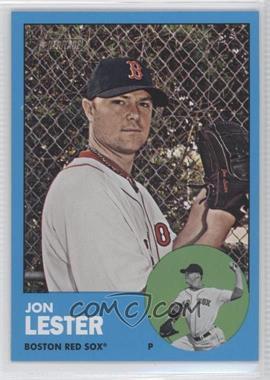 2012 Topps Heritage #76 - Jon Lester