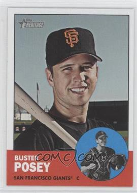 2012 Topps Heritage #85.2 - Buster Posey (Color Swap)
