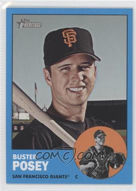 2012 Topps Heritage #85.3 - Buster Posey (Blue Border Wal-Mart)
