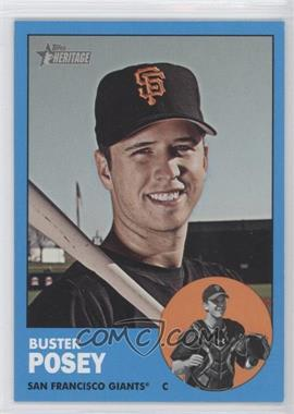 2012 Topps Heritage #85.3 - Buster Posey (Wal-Mart Blue)